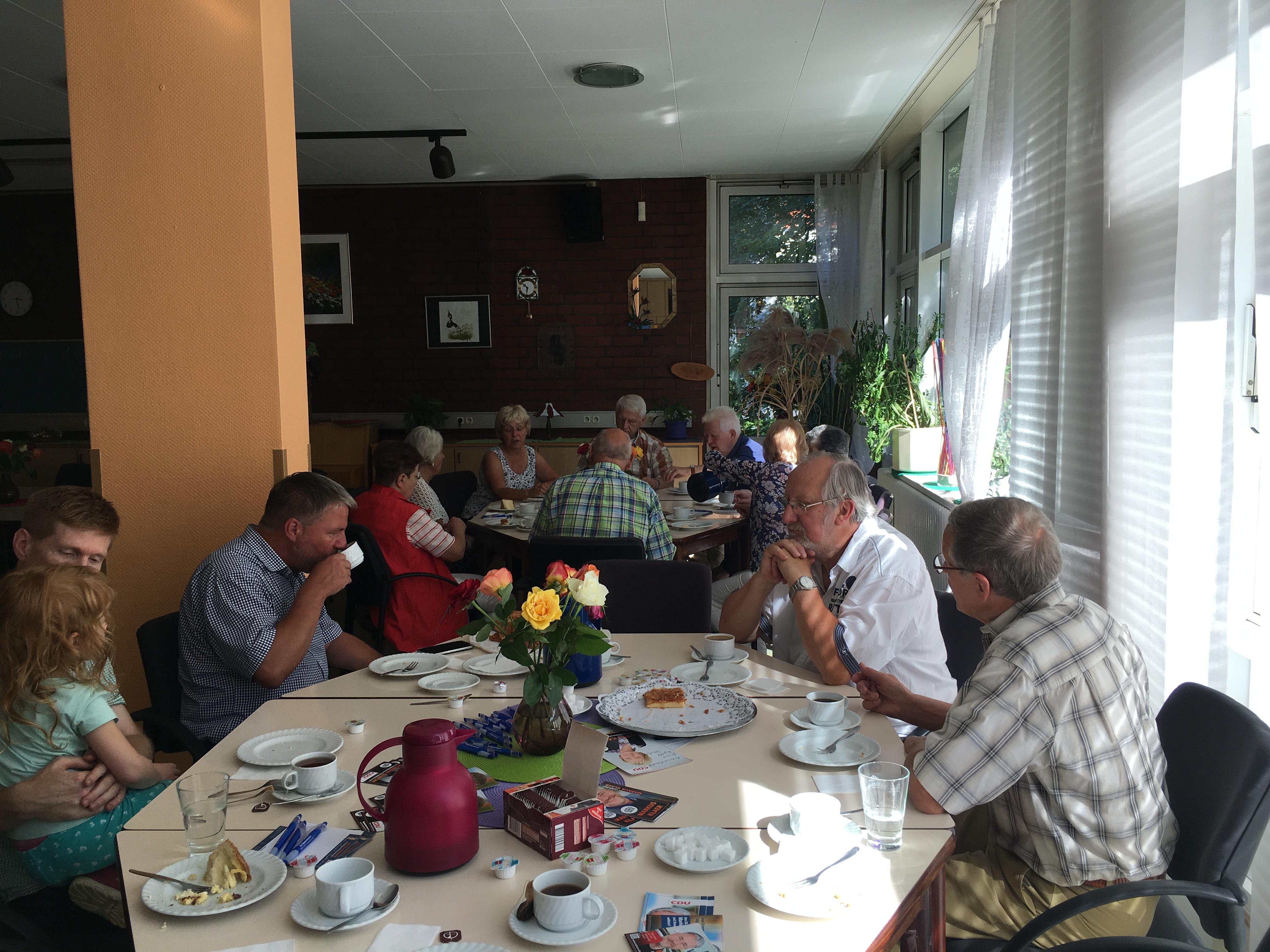 Cdu Ortsverband Friedenau Kaffee Und Selbstgebackener Kuchen Mit